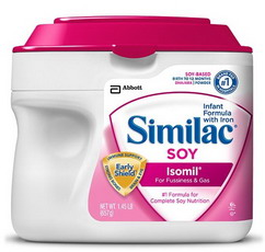NUTRITION SIMILAC SOY ISOMIL