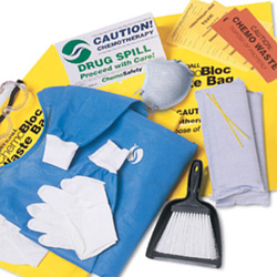 KIT SPILL CHEMOBLOC LATEX FREE